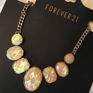F21 OPAL Statement Necklace